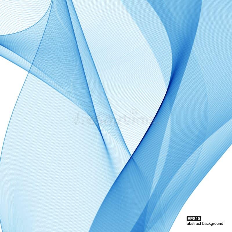 Website Design New Ideas: Abstraiga El Fondo El Azul Agita En El Fondo Blanco Para