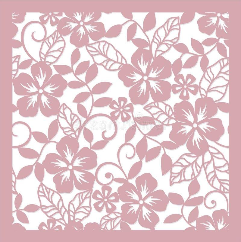 Abstraiga el fondo floral ilustración del vector