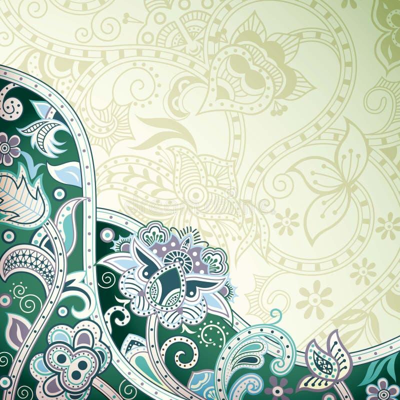 Download Abstraiga el fondo floral stock de ilustración. Ilustración de fuente - 42430648