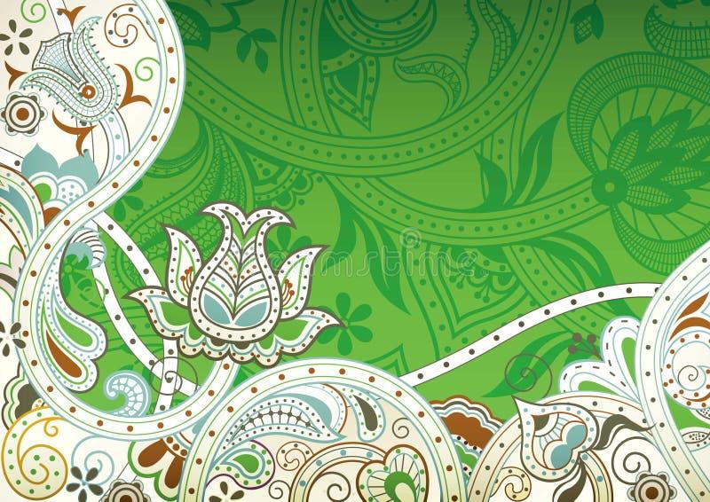 Download Abstraiga el fondo floral stock de ilustración. Ilustración de organismo - 42430654