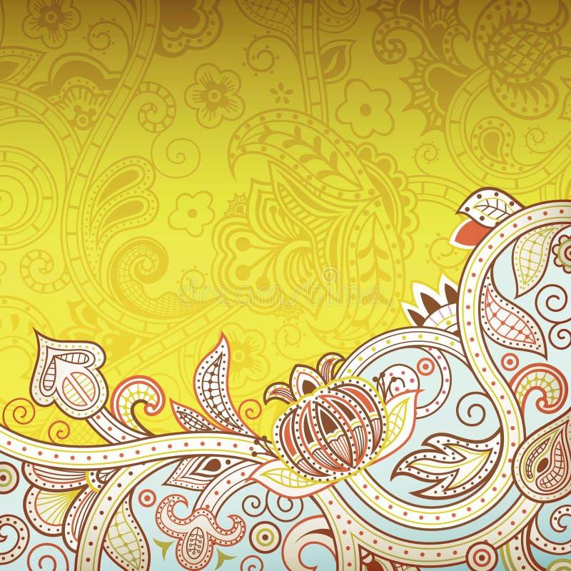 Download Abstraiga el fondo floral stock de ilustración. Ilustración de elegante - 42430658