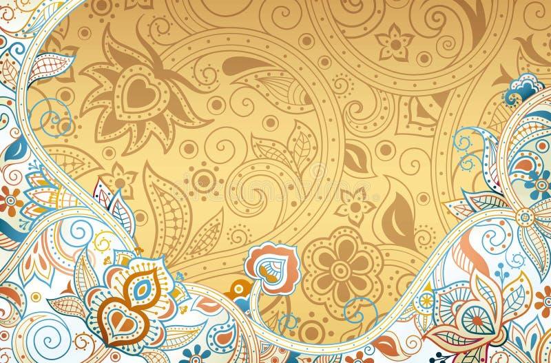 Download Abstraiga el fondo floral stock de ilustración. Ilustración de fondo - 42430662