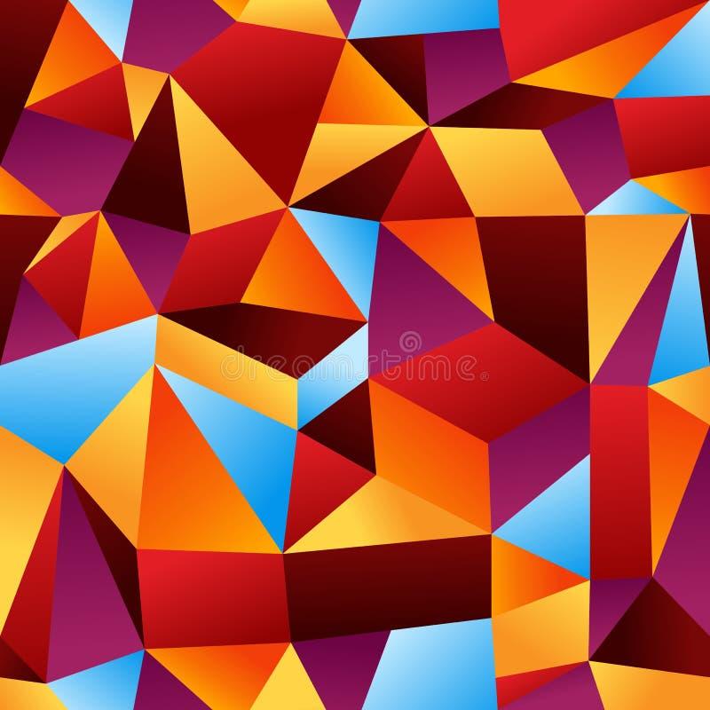 Abstraiga el fondo geométrico del modelo stock de ilustración