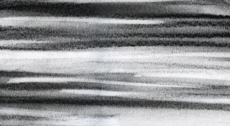 abstraiga el fondo Movimientos blancos y negros Ejemplo en colores pastel a mano libre illustration