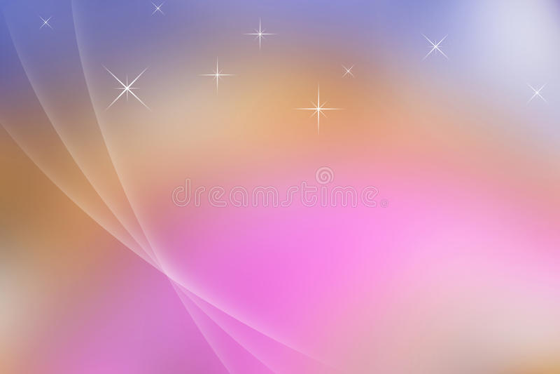 Abstraiga el fondo multicolor stock de ilustración