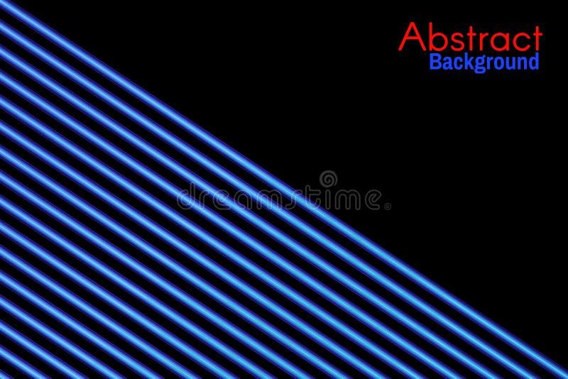 abstraiga el fondo El ne?n brillante alinea el fondo Estilo retro 80s ilustración del vector