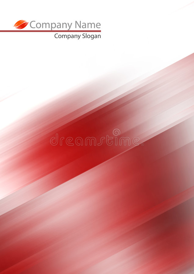 Abstraiga el fondo suave rojo libre illustration
