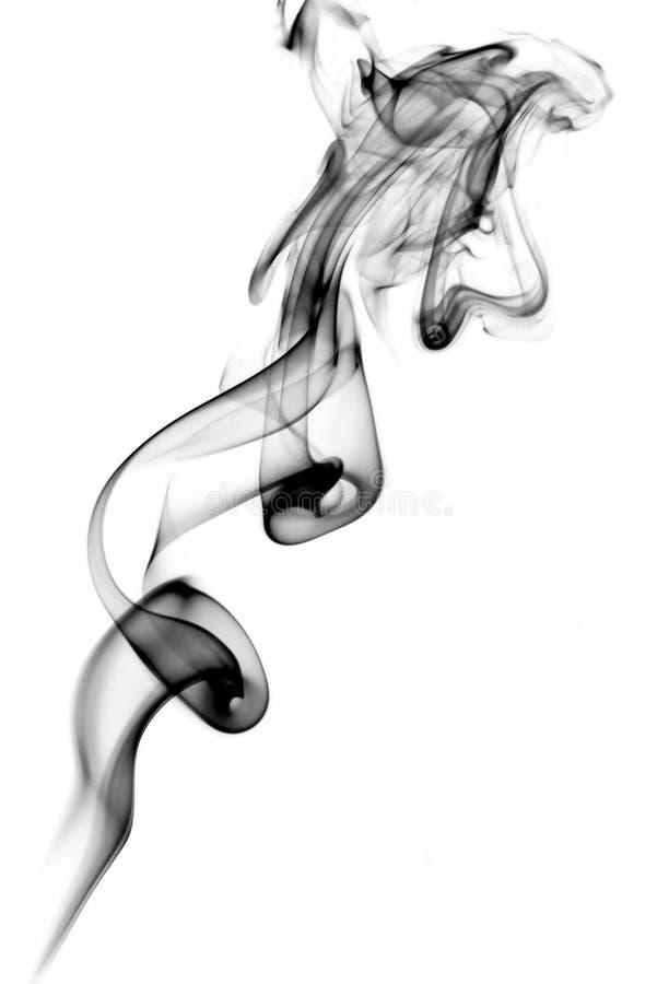 Abstraiga el humo imagenes de archivo