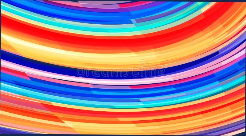 Abstraiga el modelo brillante del color Fondo del carnaval ilustración del vector