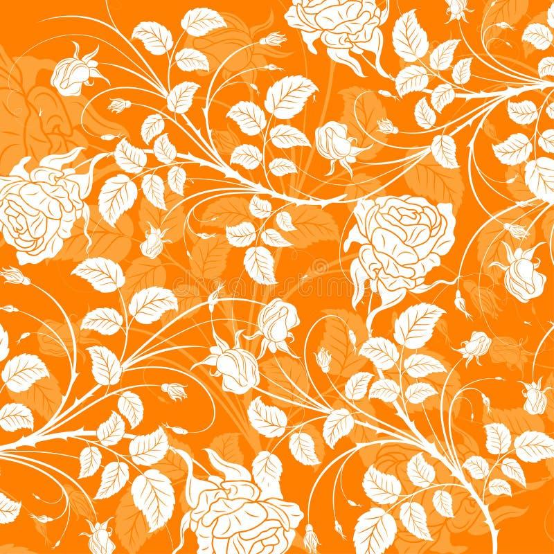Abstraiga el modelo floral, vecto stock de ilustración