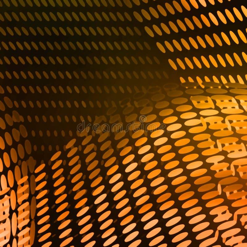Abstraiga la composición amarilla moderna ilustración del vector
