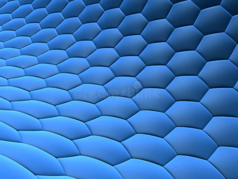 Abstraiga las células ilustración del vector