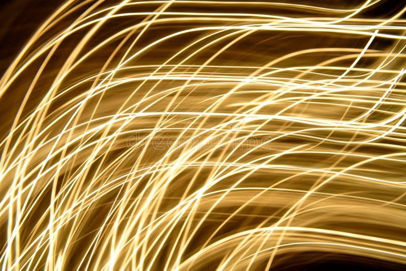 Abstraiga las luces móviles fotos de archivo libres de regalías