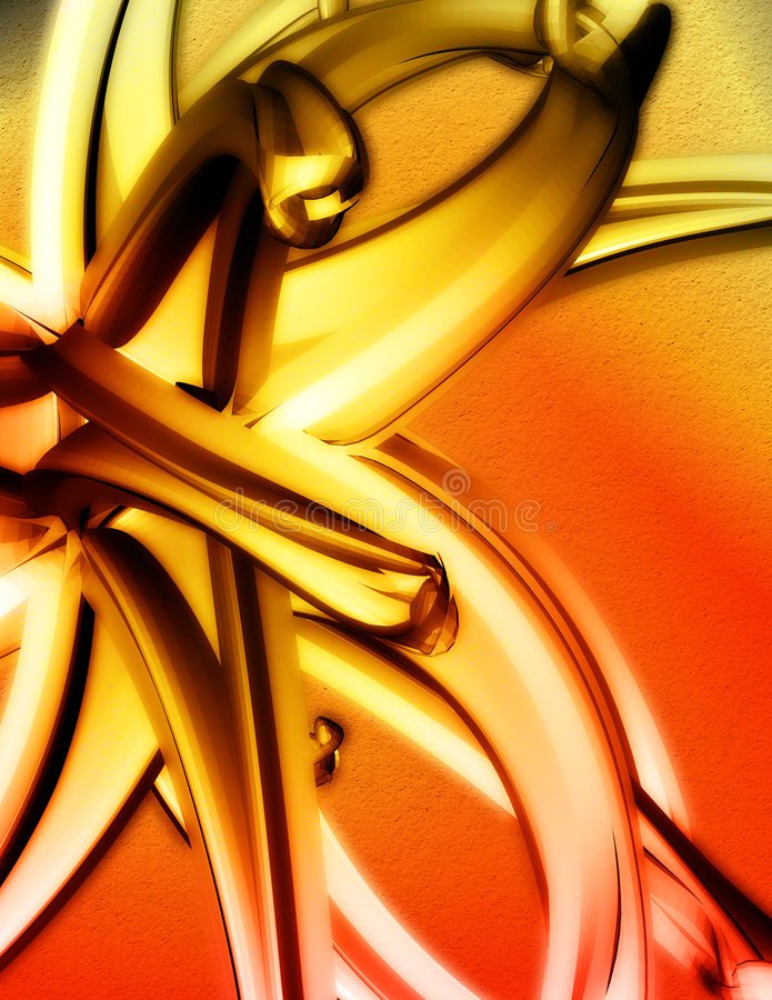 abstrait 3D illustration stock