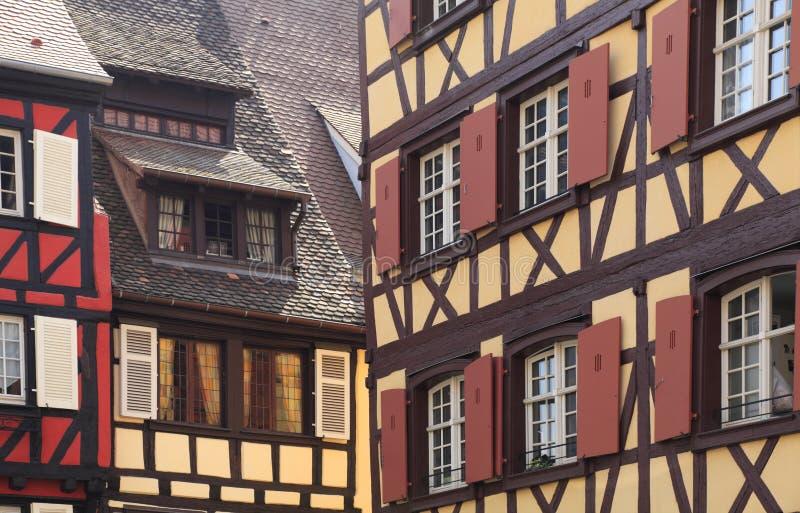 Abstrait architectural alsacien