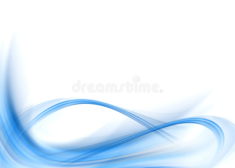 Abstrait bleu illustration stock
