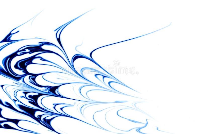 Abstrait bleu illustration de vecteur