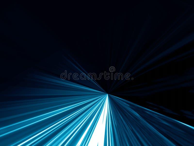 Abstrait bleu-foncé illustration stock