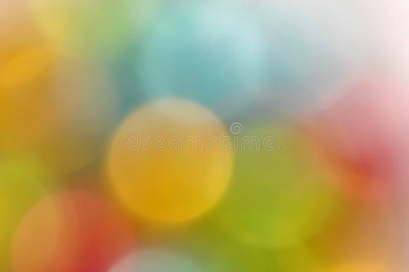 Abstrait brouillé par couleur image stock