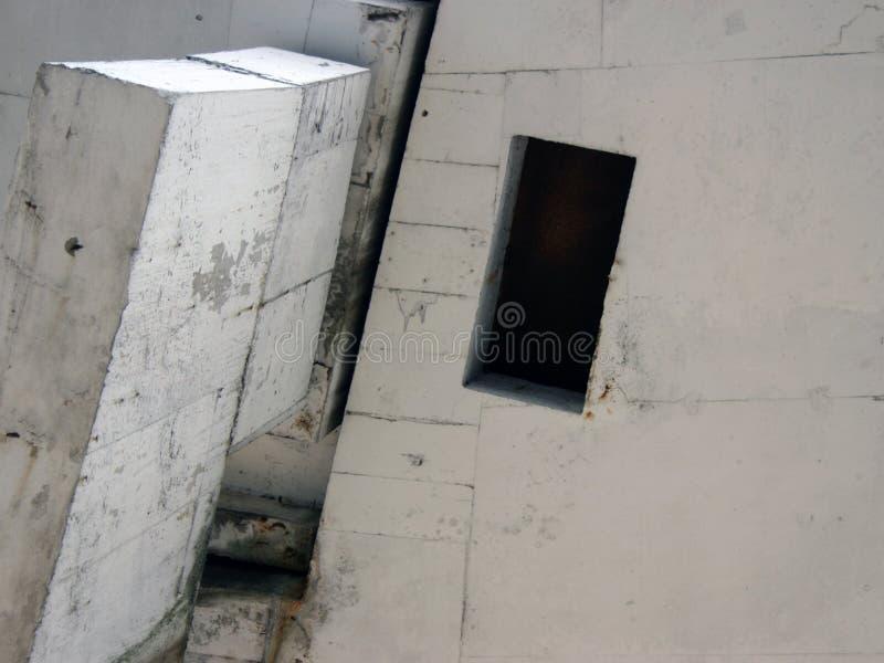 Abstrait concret photographie stock
