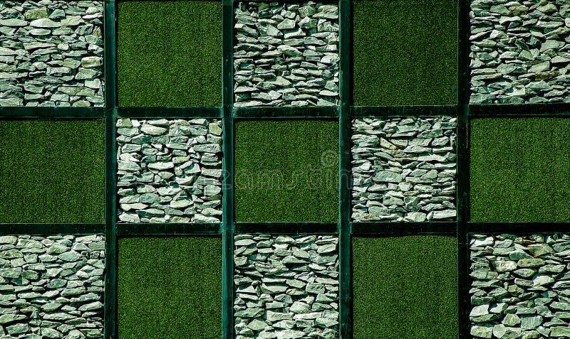 Abstrait d'herbe artificielle images stock