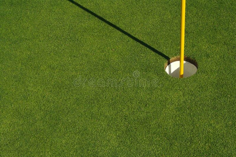 Abstrait de vert de golf et de Pin images libres de droits