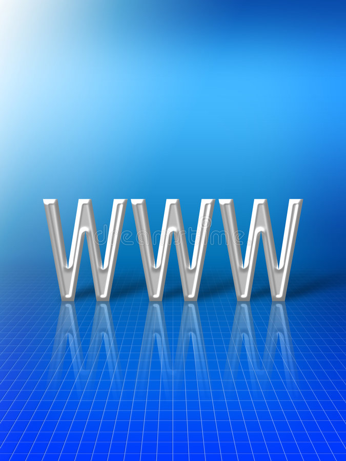 Abstrait de World Wide Web illustration stock