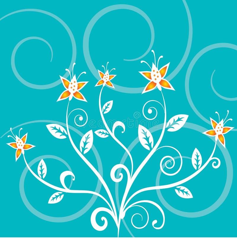 Abstrait floral illustration stock