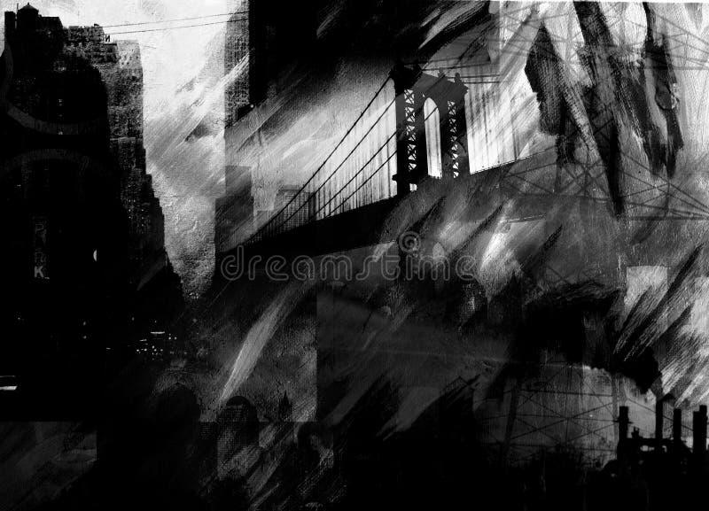 Abstrait industriel illustration stock