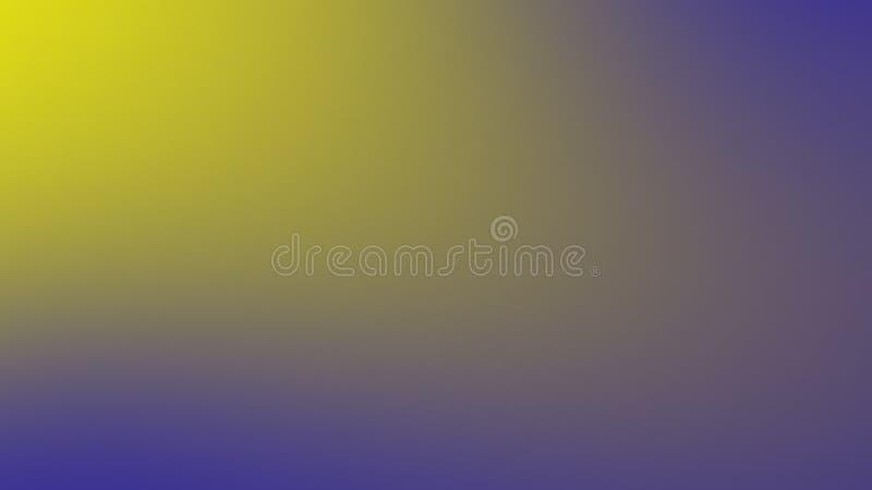 Abstrait jaunissez - la conception d'écran bleu pour le Web Fond mou de gradient de couleur ?l?ment de conception photo stock