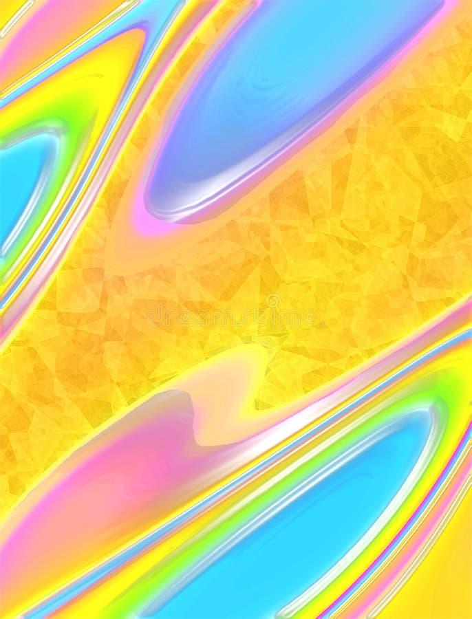 Abstrait merveilleux illustration de vecteur