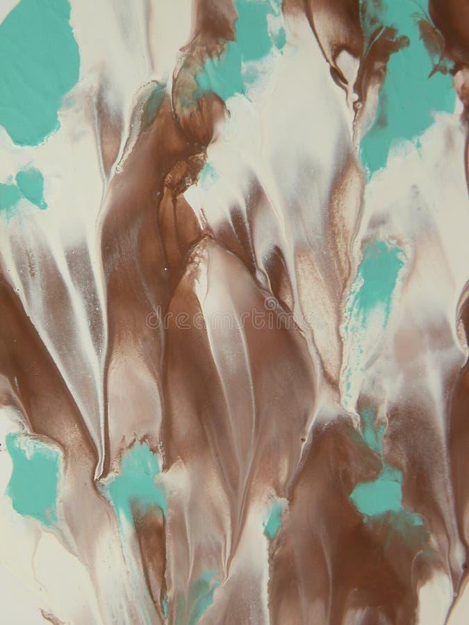 Abstrait peint image libre de droits