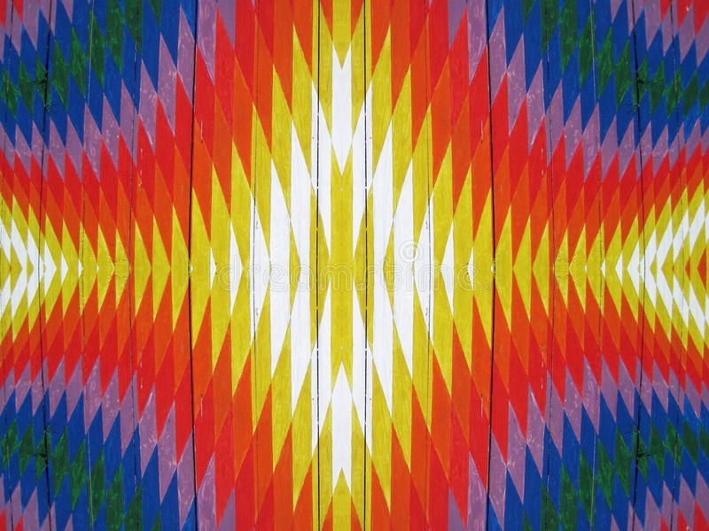 Abstrait peint coloré photos libres de droits
