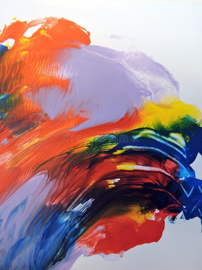 Abstrait peint coloré photos stock