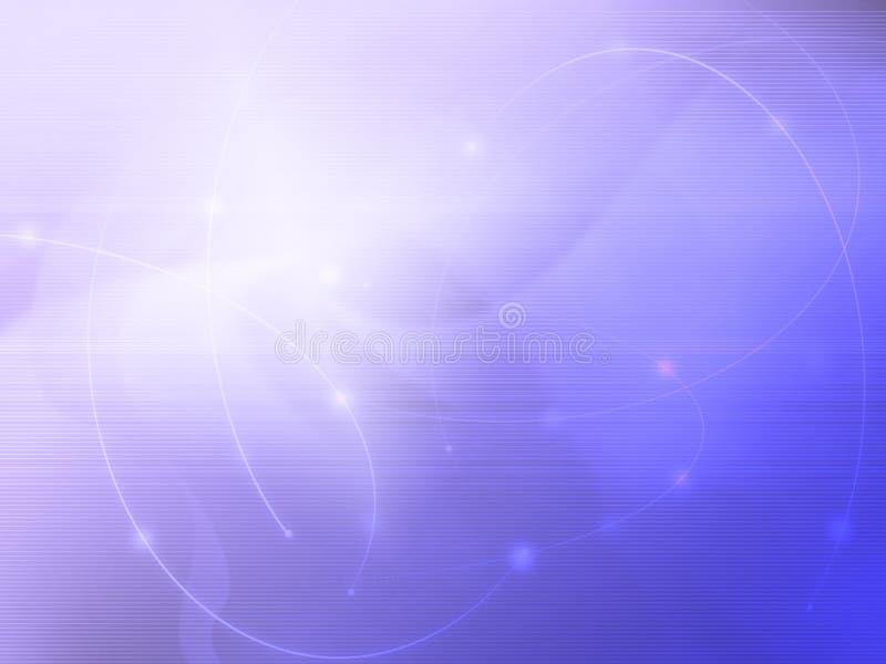 Abstrait refroidissez les ondes illustration de vecteur