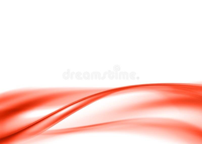 Abstrait rouge illustration de vecteur