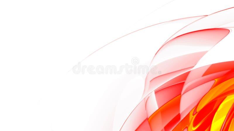 Abstrait Rouge Doux Image stock