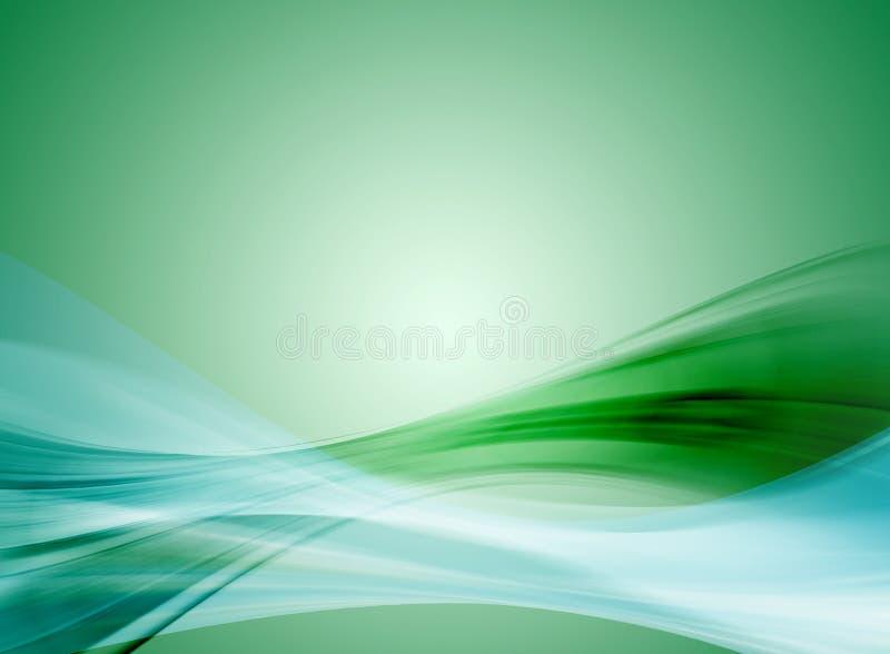 Abstrait vert illustration libre de droits