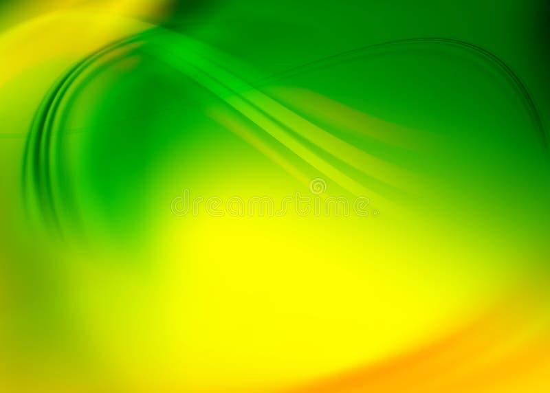 Abstrait vert illustration de vecteur