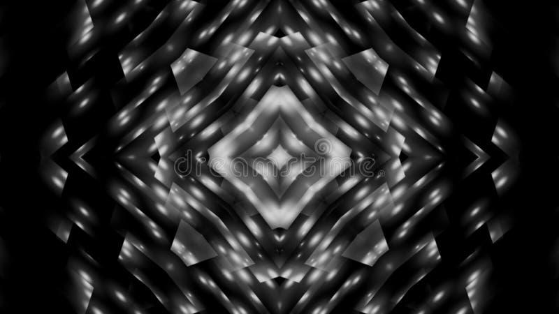 Abstrakci czarny i biały gwiazda obrazy royalty free