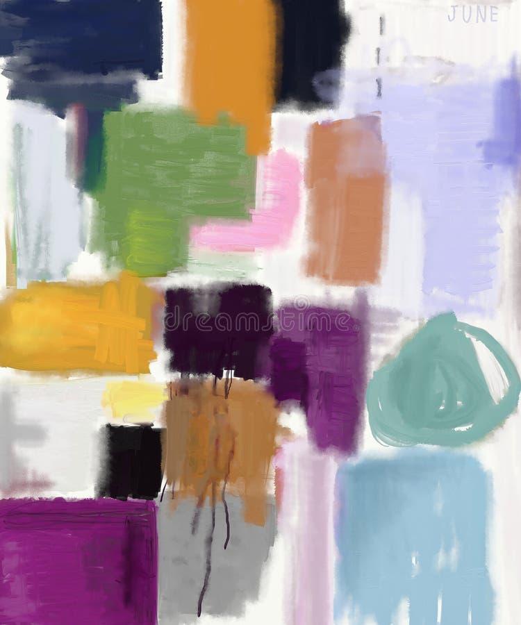abstrakcja ilustracji