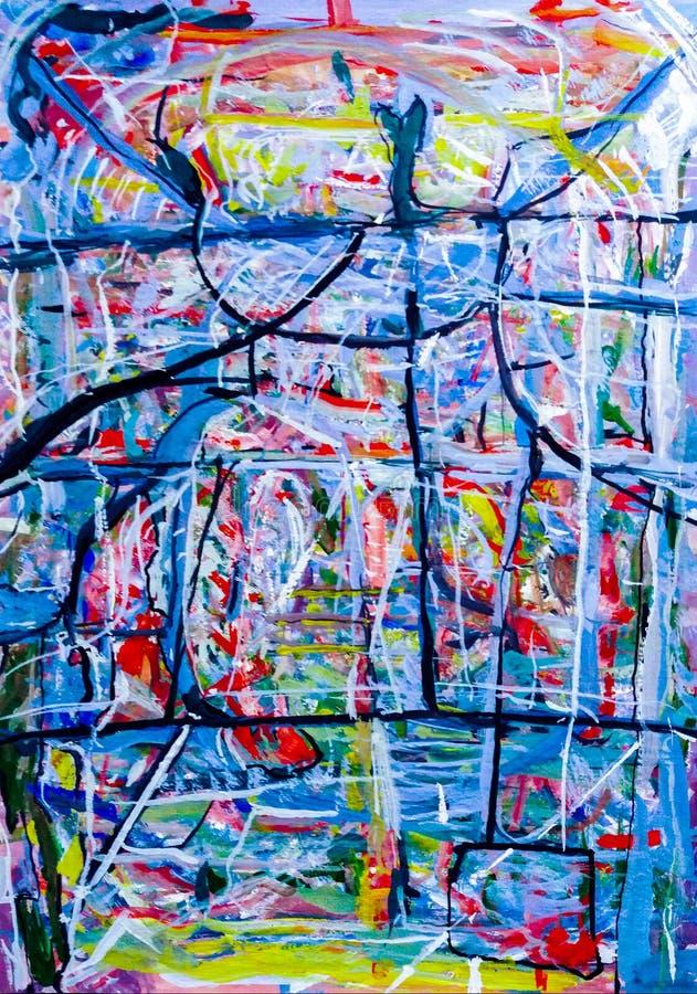 abstrakcja Abstrakt obraz obrazek royalty ilustracja