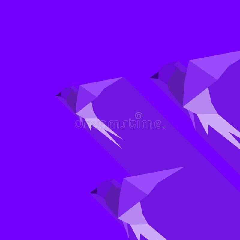 Abstrakcja bird2 royalty ilustracja