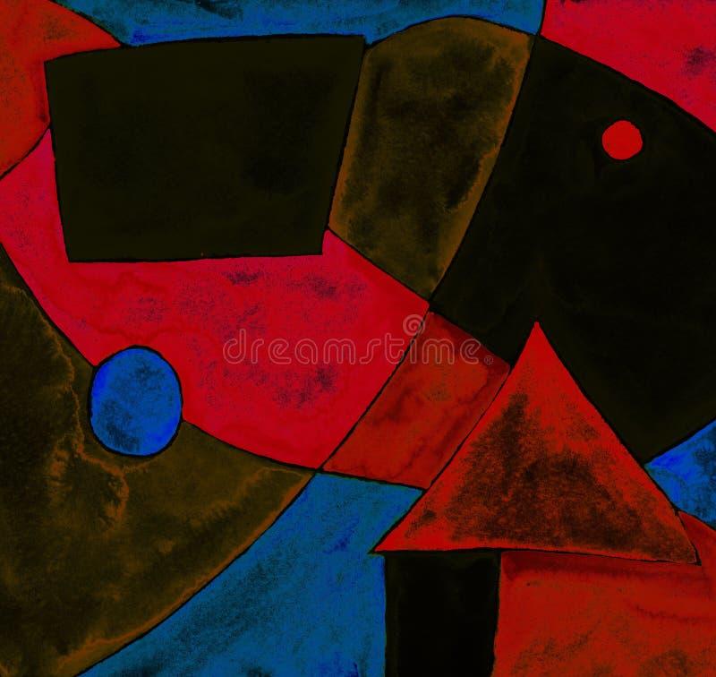 abstrakcja geometryczna ilustracji