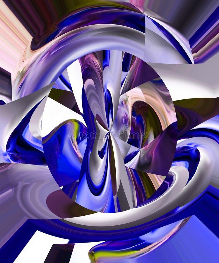 abstrakcja Graficzne sztuki obraz Abstrakt sztuka ilustracja wektor