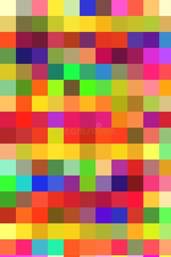 Abstrakcja kolory royalty ilustracja