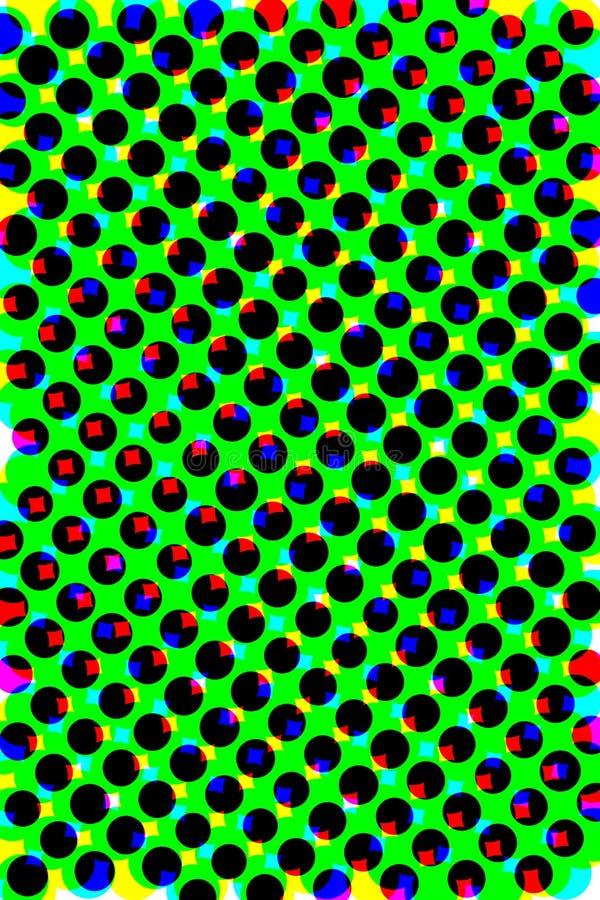 Abstrakcja kolory ilustracji
