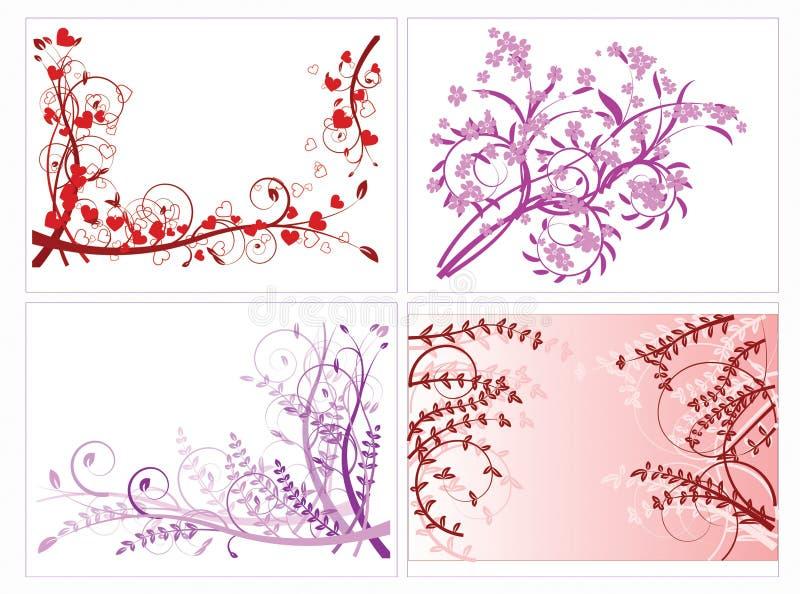 Download Abstrakcja kwiecista ilustracji. Ilustracja złożonej z pięknie - 13325544