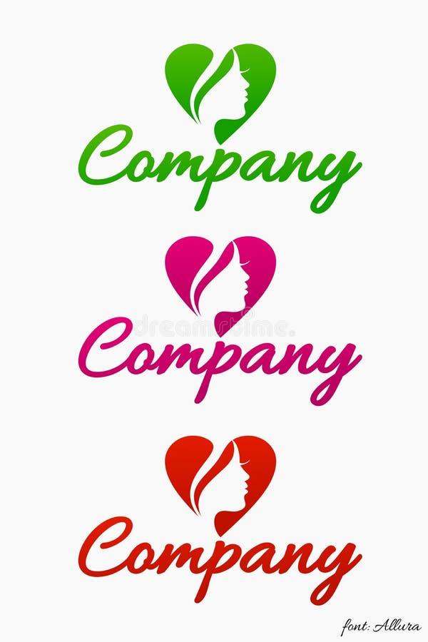 Abstrakcja logo (moda) obrazy stock