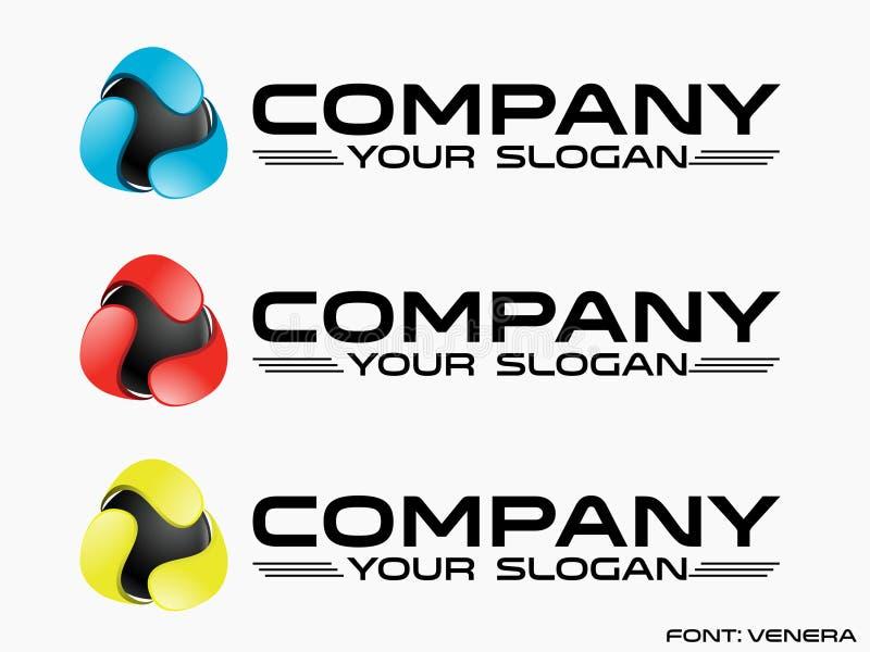 Abstrakcja logo (telekomunikacja) ilustracji